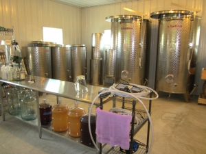 The fermentation room