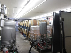 Fermentation and aging at Two Rivers