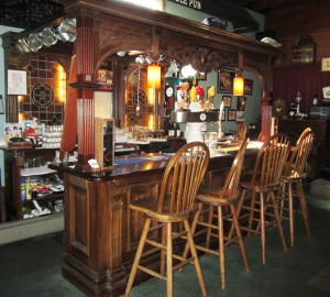 The tasting room bar