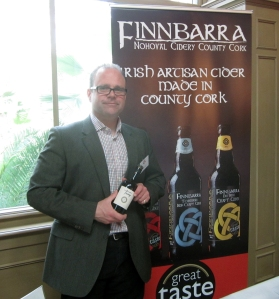 Daniel Emerson, owner and chief cider maker of Finnbarra Cider